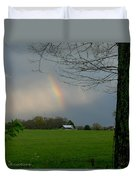 Rainbow After The Rain Duvet Cover