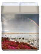 Rainbow By The Lake Duvet Cover