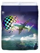 Rainbow Set Free Duvet Cover