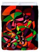 Rainbow Snake 1 Duvet Cover