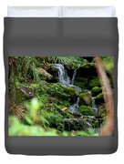 Rainbow Springs Waterfall Duvet Cover