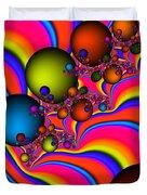Rainbow Universe Duvet Cover