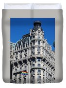 Rainbows And Architecture Duvet Cover