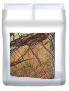 Rainforest Green Marble Duvet Cover