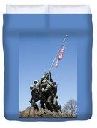 Raise The Flag Duvet Cover