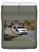 Rally Race Duvet Cover