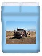 Ranch Truck Duvet Cover