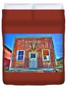 Randsburg Post Office Duvet Cover