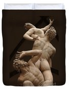 Rape Of Sabine Women 2 Duvet Cover