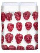 Raspberry Formation Duvet Cover