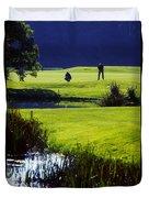 Rathsallagh Golf Club, Co Wicklow Duvet Cover