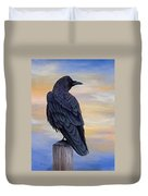 Raven Beauty Duvet Cover