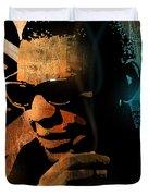 Ray Charles Duvet Cover