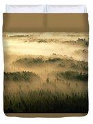 Rays Of Early Morning Sunlight Beam Duvet Cover