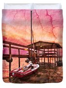 Ready To Sail Duvet Cover