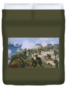 Rebellion In Venice Duvet Cover