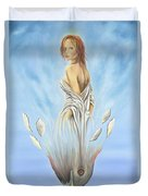 Rebirth Of A Woman - Ascension Duvet Cover