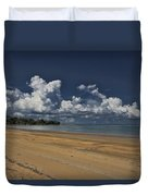 Receding Waters Duvet Cover