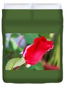 Red Bud Duvet Cover