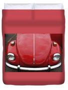 Red Bug Duvet Cover
