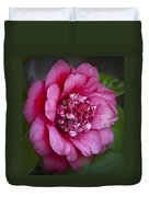 Red Camellia Duvet Cover by Teresa Mucha