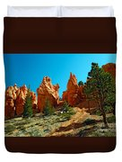 Red Canyon Trail Duvet Cover