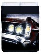 Red Car Duvet Cover