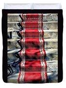 Red Carpet Treat Duvet Cover