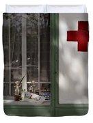 Red Cross. Belgrade. Serbia Duvet Cover