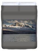 Red Eagle Mountain Evening Duvet Cover