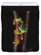 Red-eyed Tree Frog Agalychnis Callidryas Duvet Cover