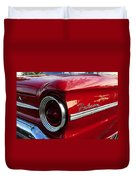 Red Falcon Duvet Cover