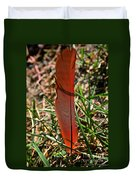 Red Feather Duvet Cover