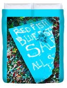 Red Fish Blue Fish Sale Duvet Cover