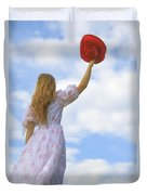 Red Hat Duvet Cover by Joana Kruse