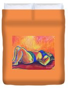 Red Hot Mama Duvet Cover
