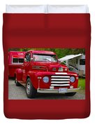 Red Mercury Duvet Cover
