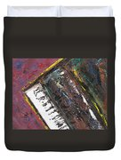 Red Piano Series 7 Duvet Cover