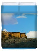 Red Rock In New Mexico Duvet Cover