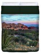 Red Rock Sunset II Duvet Cover