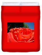Red Rose Flower Fine Art Prints Roses Garden Duvet Cover