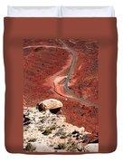 Red Rover Duvet Cover
