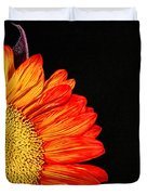 Red Sunflower IIi Duvet Cover