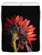Red Sunflower X Duvet Cover