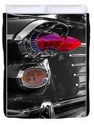 Red Tail Lights Duvet Cover