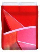 Red Thing Duvet Cover
