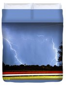Red White And Blue Duvet Cover by James BO  Insogna