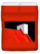 Red White Black Duvet Cover