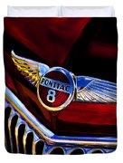 Red Wings Duvet Cover