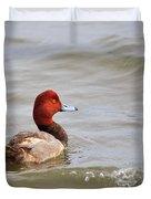 Redhead Duck Duvet Cover
